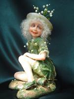фимо, 27 см (в сидячем виде), 2005 г.