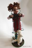 La Doll, высота 35 см, ширина = длине 14 см, 2011