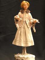 фарфор, текстиль, 45 см, 2004 г.