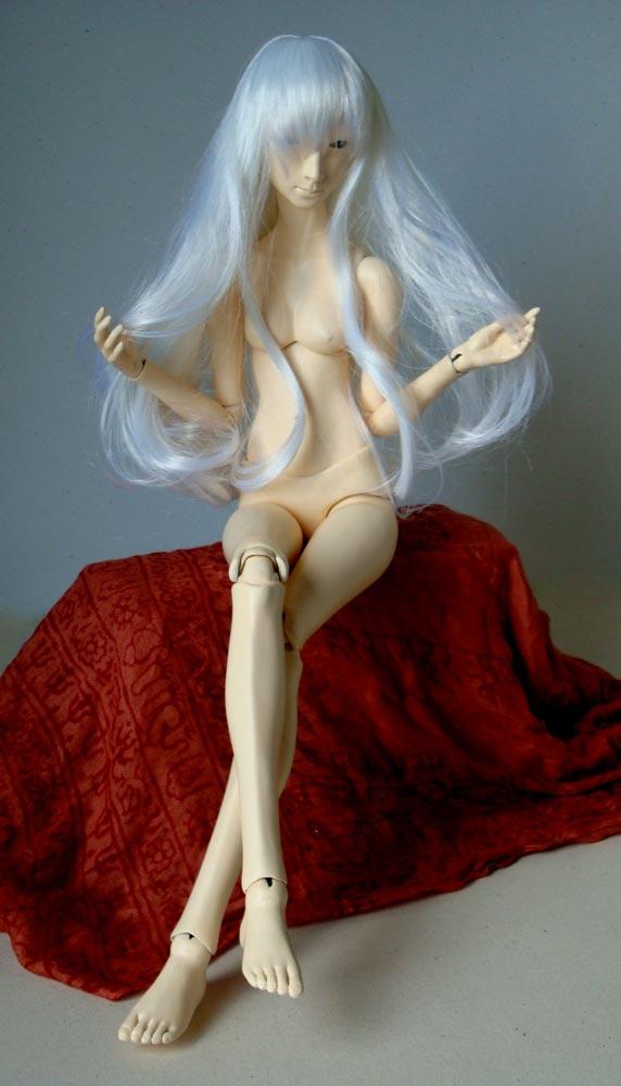 Гипсовая кукла своими руками