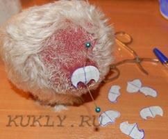 Мишка тедди - шьем своими руками, выкройки и описания.