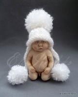 Living Doll, краски масляные, шерсть, 11,5 см, 2012