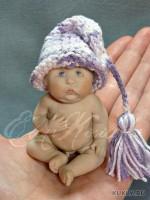 Living Doll, краски масляные, вискоза, 8 см, 2012