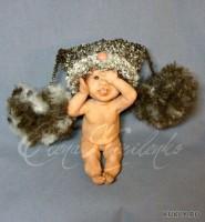 Living Doll, краски масляные, шерсть, 9 см, 2012