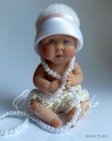 Living Doll, краски масляные, шерсть, хлопок  , 8 см, 2011