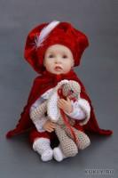 Living Doll, пастель, бархат, хлопок, 17 см, 2012