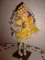 Фимо, натуральный шелк, 34 см, 2005 г.
