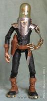 кожа, сталь, латунь, медь, фимо, 17 см, можно анимировать, 2011