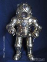 фимо, текстиль, латунь, бронза, сталь, оргстекло, 21.8 см, 2013