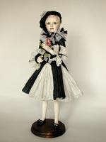 флюмо, костюм: бумага, 45 см, 2007