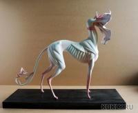 la doll, magic-sculpt, 36х30 см с подставкой, 2013