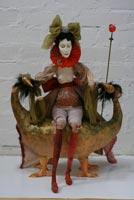 фарфор и папье-маше, 60 см, 2007 г.