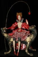 фарфор, папье-маше, роспись масло, 82 см, 2008