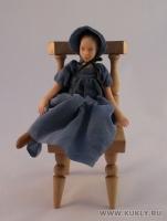 Fimo Miniature, Cernit, Высота композиции –15,5 см. Высота куклы –16 см., Апрель, 2008 г.