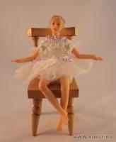 Fimo Miniature, Cernit, Высота композиции –16,5 см. Высота куклы –17,5 см., Май, 2008 г.