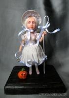 Fimo Miniature, Fimo puppen, Высота композиции –14 см. Высота куклы –11 см., Июль, 2009 г.