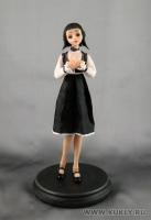 Fimo Miniature, Высота композиции – 20,5 см. Высота куклы –18,5 см., Октябрь, 2009 г.