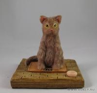 Fimo Miniature, Высота композиции – 10 см. Высота куклы – 8 см., Ноябрь, 2009 г.