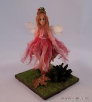 Fimo Miniature, Высота композиции – 16 см. Высота куклы – 13,5 см., Июнь, 2009 г.