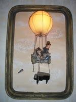 Fimo Puppen, текстиль, рама (Vintage), стекло, дерево, кожа, бумага, металл и пр., 62х88х20 см (Ширина х Высота х глубина), 2007