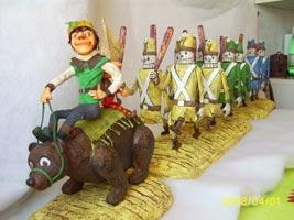 Fimo Puppen, Super Sculpey, текстиль, дерево, 31х18х35 см (ДхШхВ), 65х21х35 см (ДхШхВ), 42х21х35 см (ДхШхВ), 2008