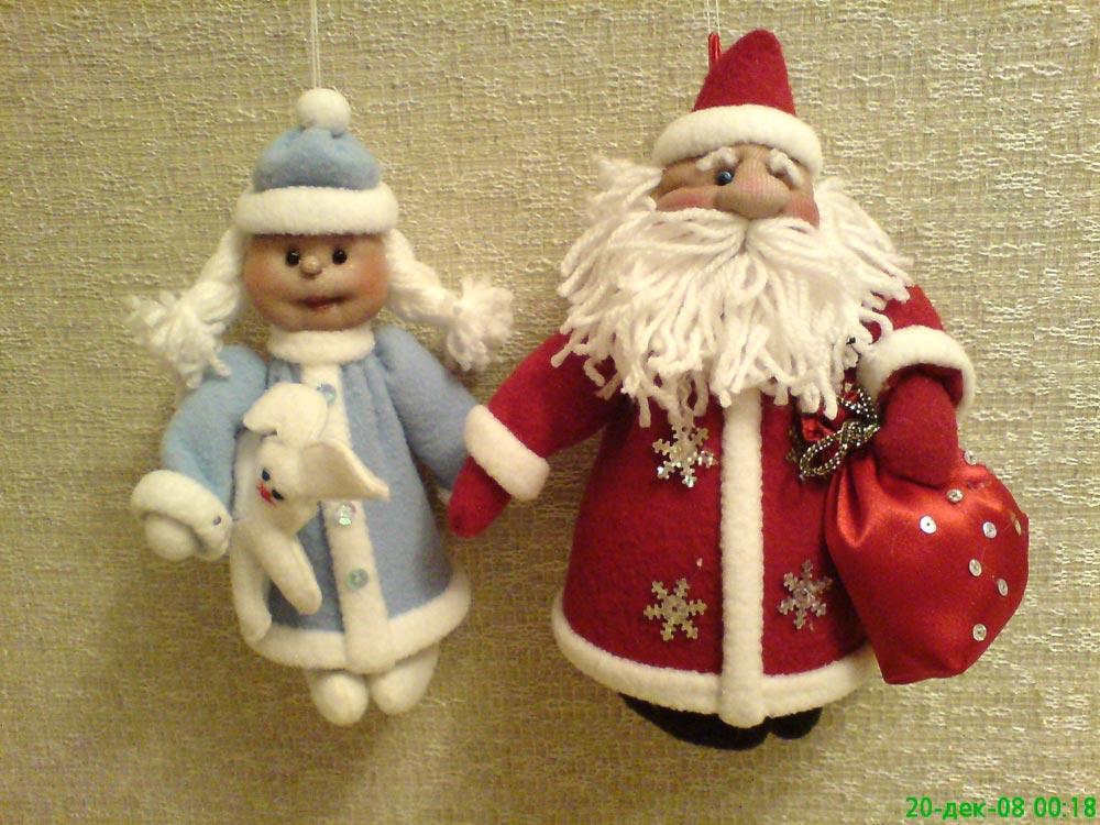 Игрушки дед мороз своими руками фото