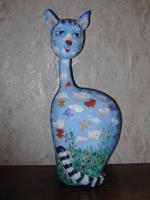 папье-маше, роспись, 52 см, 2007 г.