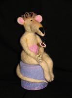 фильц, мохер, 23 см, 2005 г.