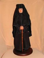 Ливингдолл, ткани, роспись маслом, 50 см, 2007 г.