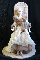 паперклей, папье-маше, ткань, покрывной лак, 43 см, 2007 г.