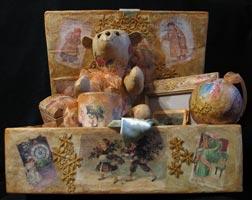 папье-маше, ткань, , 2008